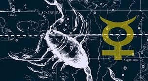 Merkúr a Skorpióban