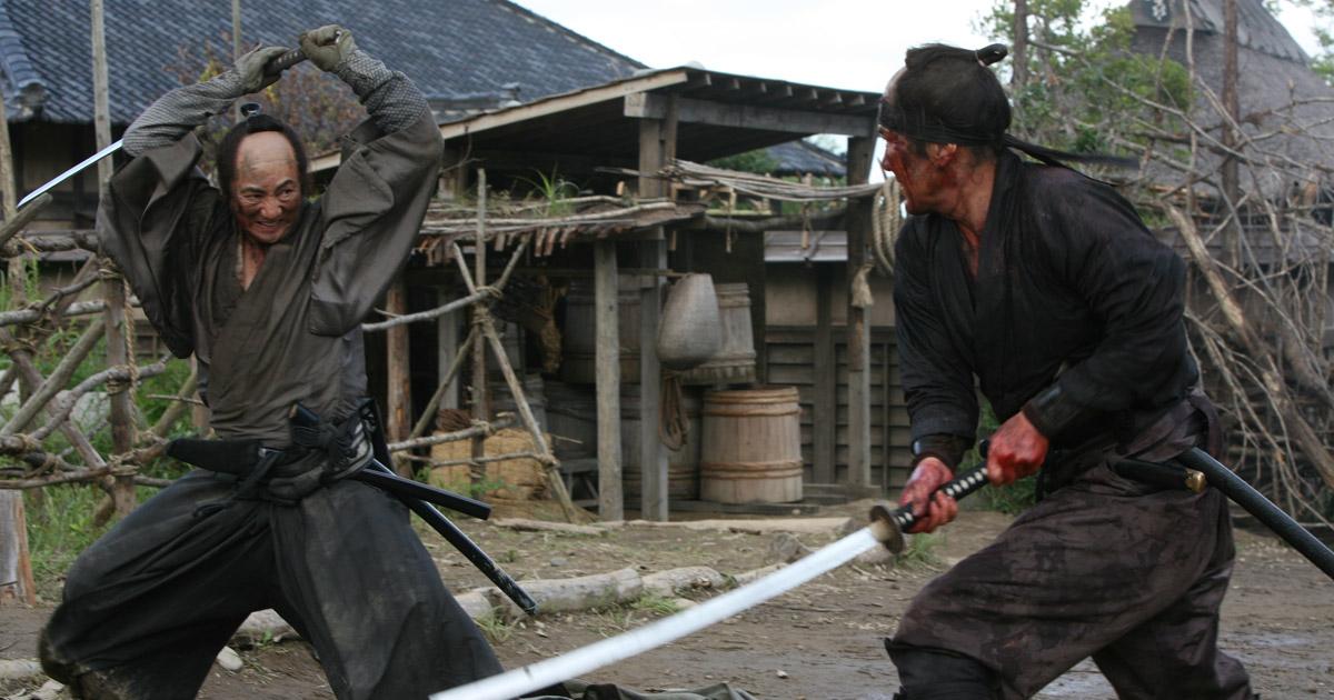 A 13 bérgyilkos címú japán film ( 2010 ) egyik jelenete