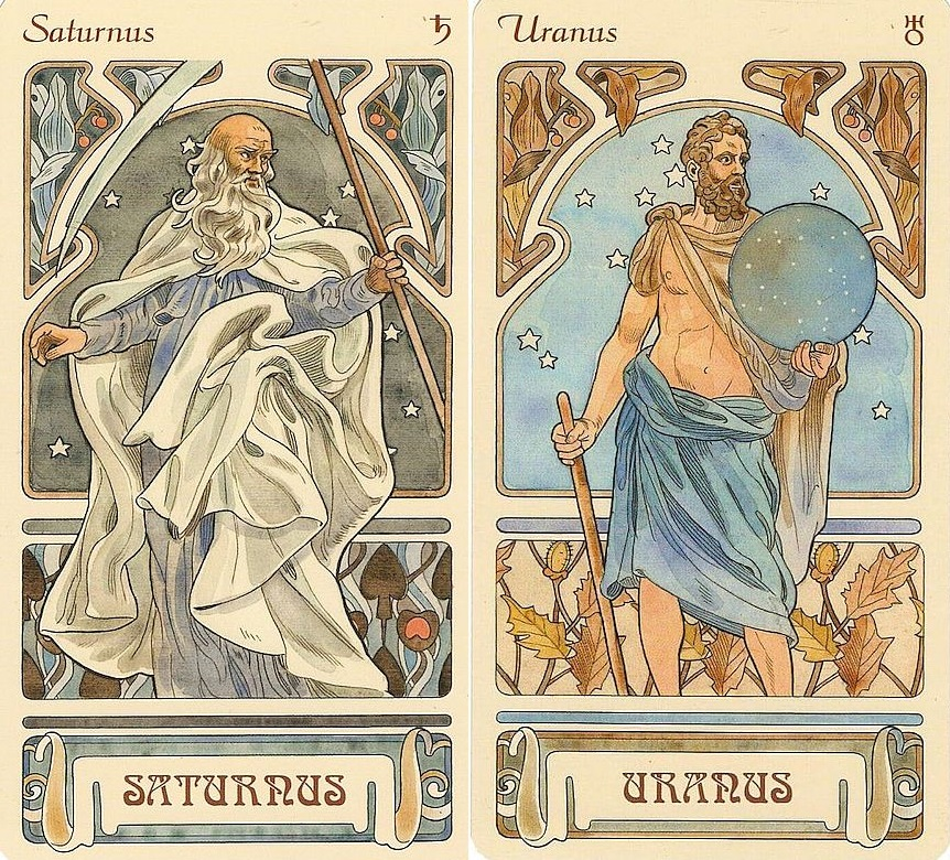 Szaturnusz - Uránusz aspektusok