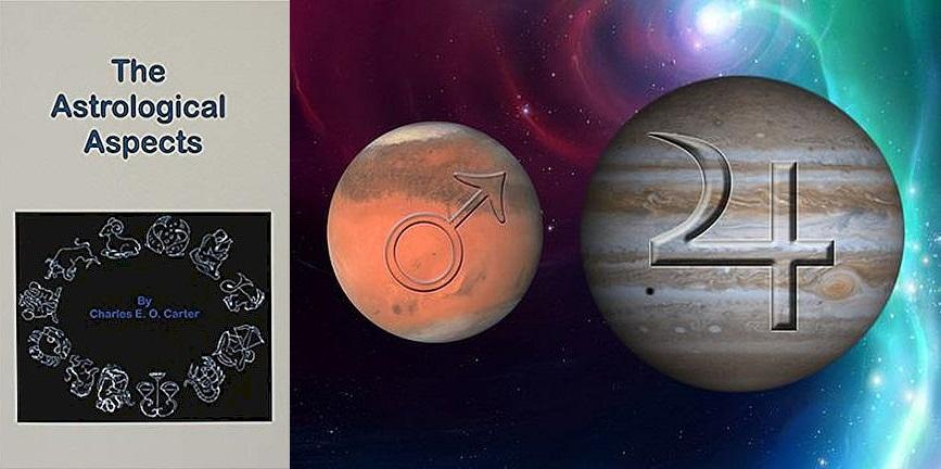 Mars Jupiter fényszögek, Charles E. O Carter