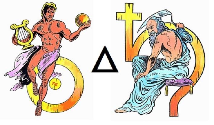 Nap - Szaturnusz trigon