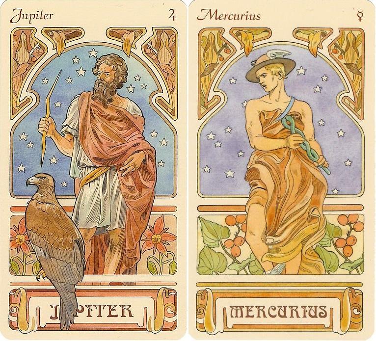 Jupiter és Merkúr