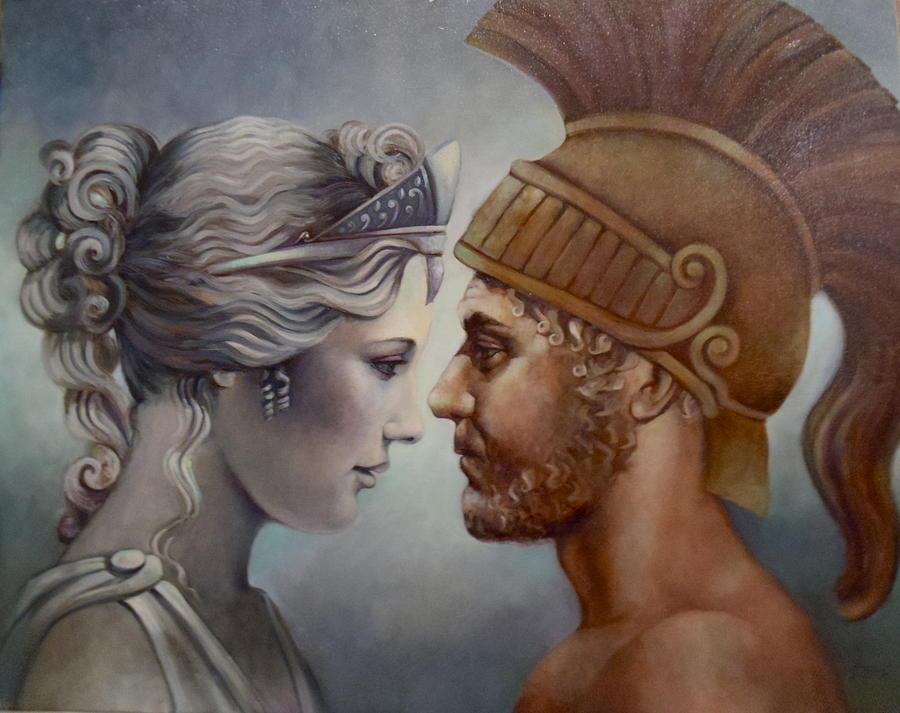 Vénusz és Mars, Geraldine Arata festménye